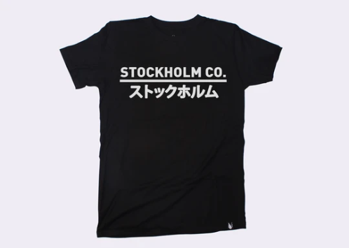 STOCKHOLM CO. | JAPAN BOUNDARIES T-Shirt - KUNST.MX
