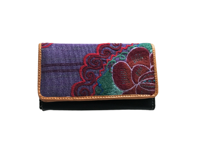 Love For Chiapas - Ethnic Embroidery Wallet - KUNST.MX