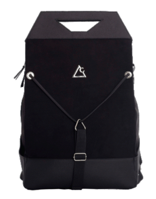 Krist Backpack - Black - KUNST & EATS