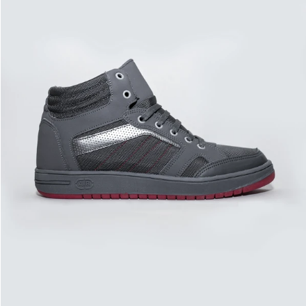 High Top Sneakers - Silver Gray - KUNST & EATS