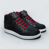 High Top Sneakers - Red & Black - KUNST & EATS