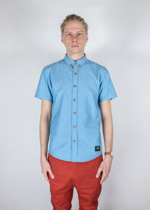 """The Blue Star"" Button-Down Shirt - KUNST"