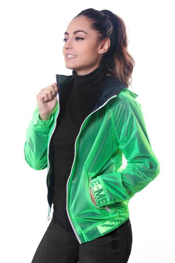 Neon Green Bomber Jacket - KUNST.MX