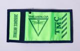 Green Neon Demon Wallet - KUNST.MX