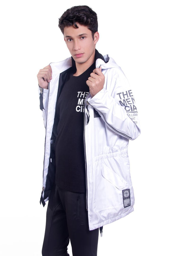 Activity White Parka Raincoat - KUNST & EATS