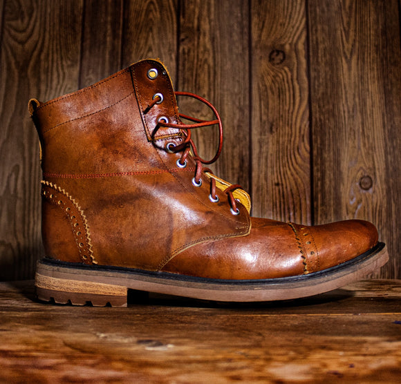 HERCALU Limited Edition Boots - Natural - KUNST & EATS