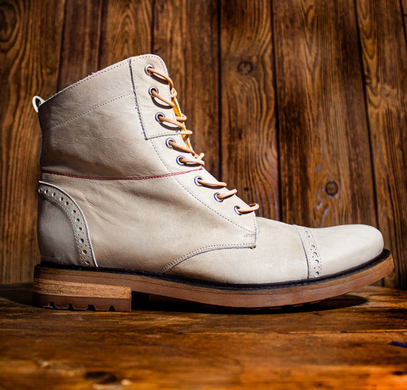 HERCALU Limited Edition Boots - Nutural Aged - KUNST & EATS