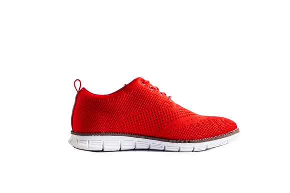 Red Salamander Sneakers - KUNST & EATS