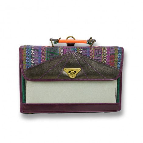 Big Lua Messenger Bag - Guatemalan Boho - KUNST.MX
