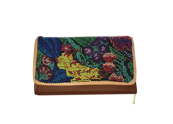 Guatemala Embroidery Wallet - KUNST.MX