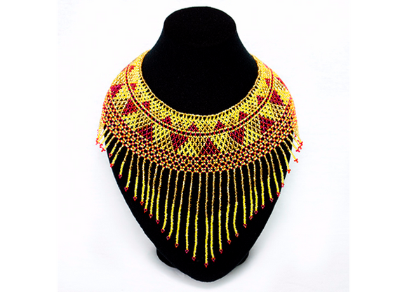 Chaquira Choker Necklace - KUNST.MX