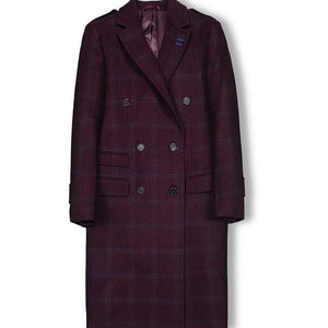 Royal Purple Overcoat - KUNST.MX