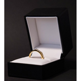 No.1 Sterling Silver/Gold Ring - KUNST.MX