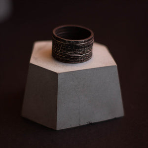 No.12 Sterling Silver Ring - KUNST.MX