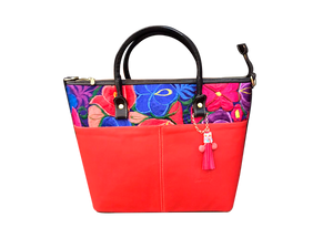 Frida Tote Bag -  Red - KUNST & EATS