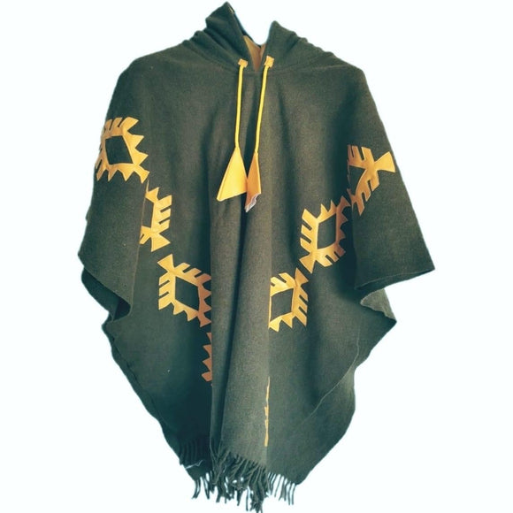 Origins Urban Poncho - Green