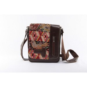 Artisanal Brown Shoulder Bag - KUNST & EATS