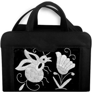Petra Tenango Black Clutch Bag - KUNST & EATS