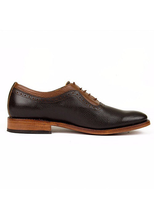 Erwin Brown Oxford Shoes - KUNST.MX