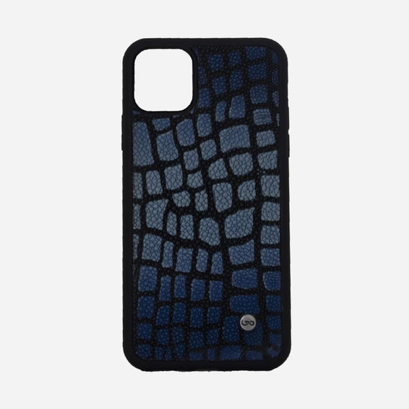 Blue Army Ray - iPhone 11 Max Pro Case - KUNST & EATS