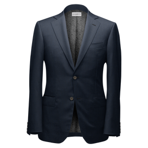 Dark Blue Bespoke Suit - KUNST.MX