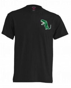 Dino Black T-Shirt - KUNST & EATS