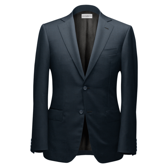 Gradient Blue Bespoke Suit - KUNST.MX