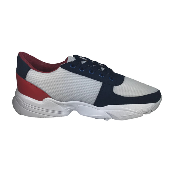 Red-White-Blue Patriot Sneakers - KUNST.MX