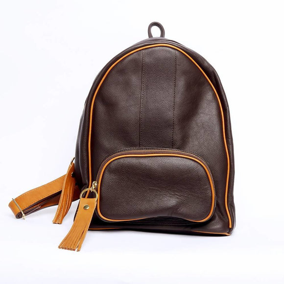 Antonia Brown Backpack - KUNST
