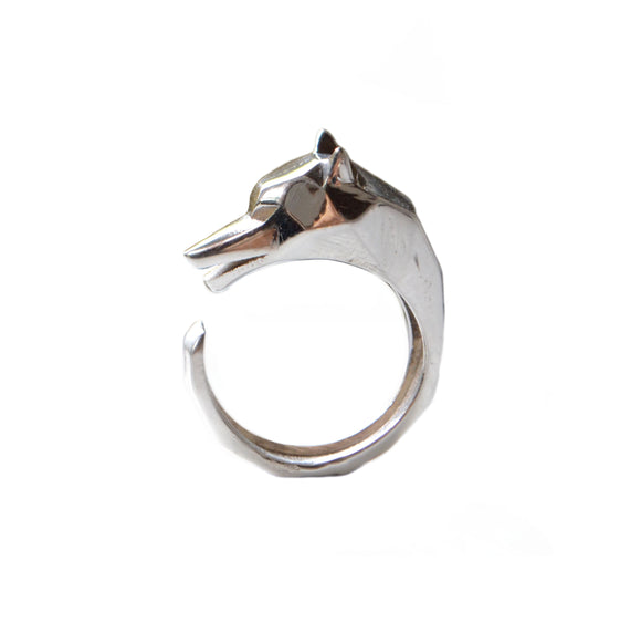 Wolf Ring - Sterling Silver - KUNST.MX