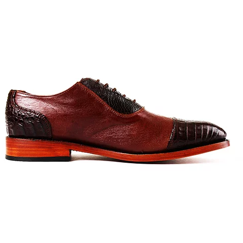 Monte Carlo Brown Oxford Shoes - KUNST