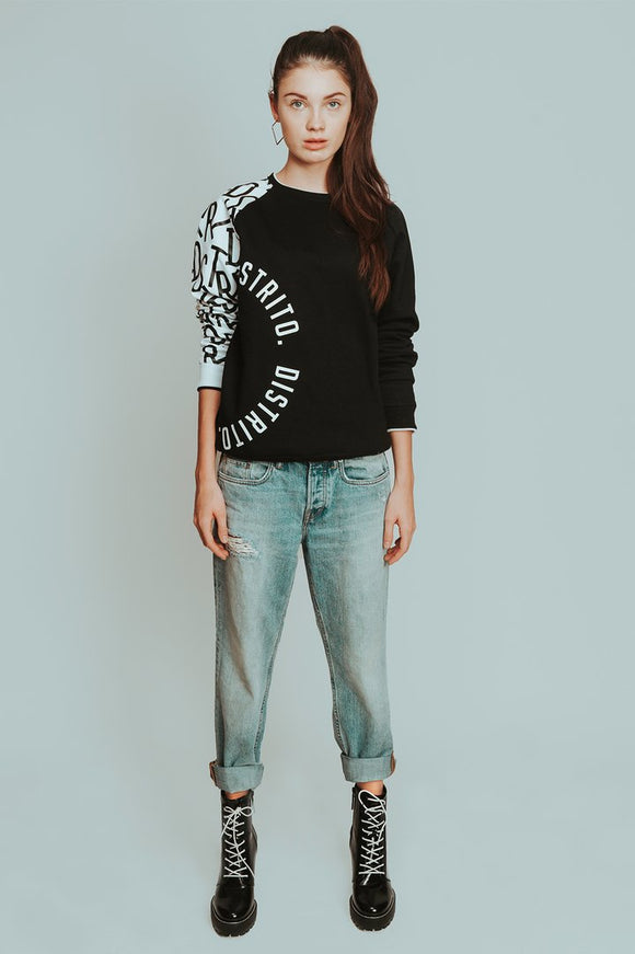 Alba Classic Black Sweater - KUNST.MX