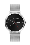 "Stainless Steel ""Ala Verb"" Watch - KUNST.MX"