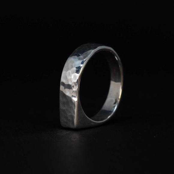 No.3 Sterling Silver Ring - KUNST.MX