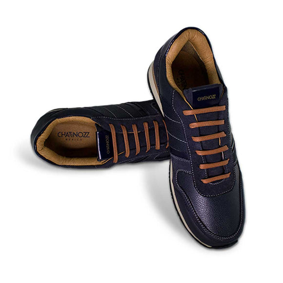 ZZ Sneakers - Navy Blue - KUNST & EATS