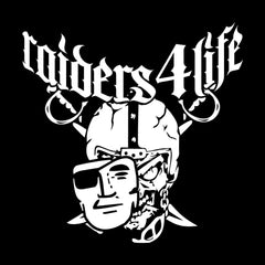 High Roller Raiders 4 Life Decal/Window Sticker