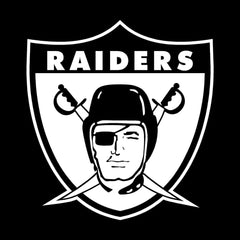 Throwback Shield Raiders 4 Life Decal/Window Sticker