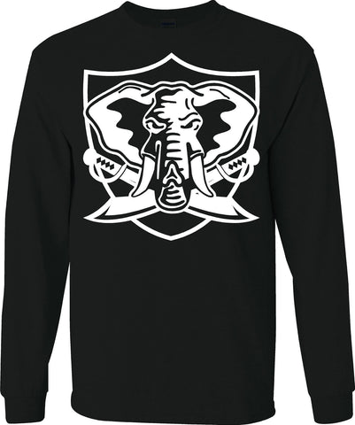 Oakland A's Elephant Shield - Raiders 4 Life Sweater