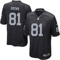 Tim Brown - Oakland Raiders Home Jersey