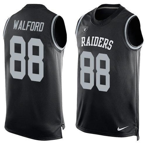 Clive Walford - Oakland Raiders Limited Edition Basketball Style Jersey