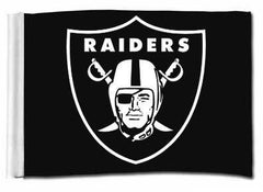 Raider Shield - 3'X5' Raiders 4 Life Banner