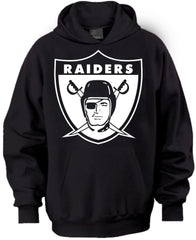Throwback Shield Raiders 4 Life Pullover Hoodie