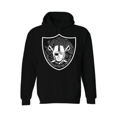 Mexican Shield - Raiders 4 Life Pullover Hoodie