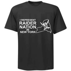 I Represent Raider Nation in New York - R4L Shirt