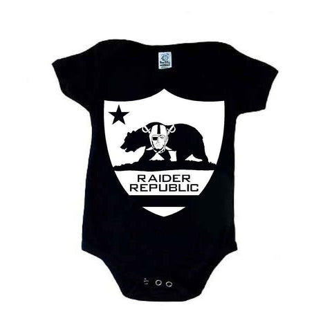 Raider Republic - Raiders 4 Life Kids Shirt or Onesie