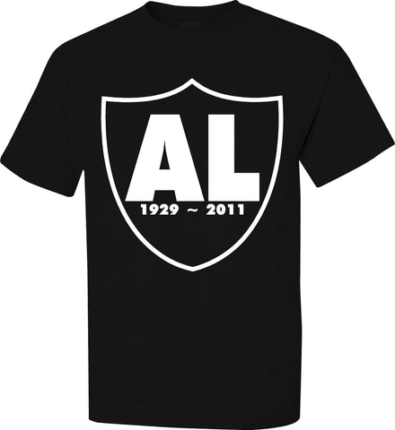 RIP Al Shield - Raiders 4 Life Tee Shirt