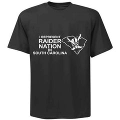 I Represent Raider Nation in South Carolina - R4L Shirt