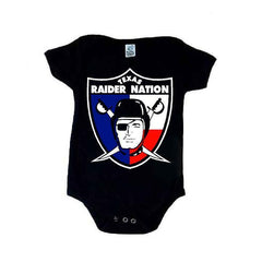 Texas Raider Nation - Raiders 4 Life Kids Shirt or Onesie