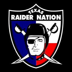 Texas Raider Nation Booster Club Window Sticker/Decal