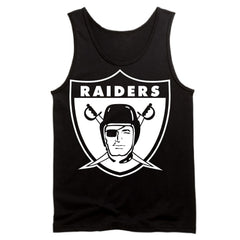 Throwback Shield Raiders 4 Life Tank Top